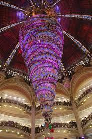 An Upside Down Christmas Tree Galeries Lafayette