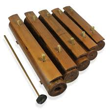 100 Home Made Xylophone Handcrafted Traditional Plain Wooden Bamboo 12x2x8 In