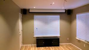 Drop Ceiling Mount Projector Screen by How To Hang A Projector Screen From A Drop Ceiling Ceiling Desk