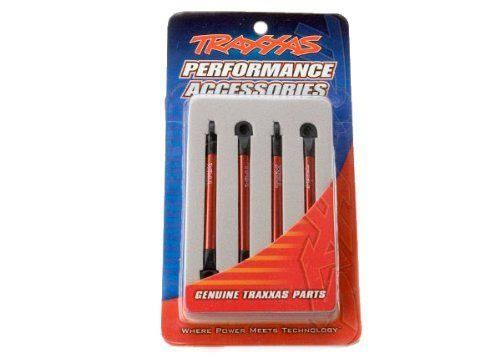 Traxxas 7118X Red-Anodized Aluminum Push Rods - 4pcs