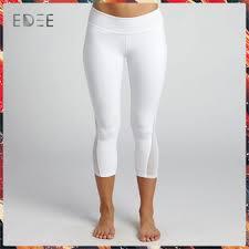Wholesale Fitness Wear Classic White Yoga Pants Girls Wearing