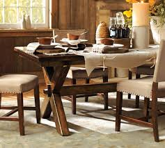 Trestle Table From Pottery Barn