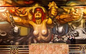 méxico ciudad de méxico mural entitled la nueva democracia by