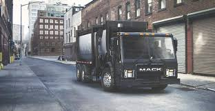 100 Garbage Truck Manufacturers Mack Republic Services Partner On Electric Refuse Tester Trailer