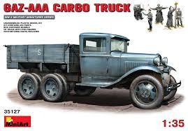 100 Aaa Truck Miniart 35127 GAZAAA CARGO TRUCK