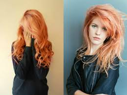 Peach Hair Color Trends 2017 Summer