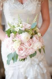 Pastel Pink Rose Bridal Bouquet