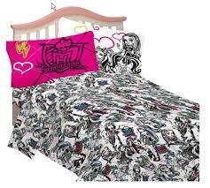 Monster High Bedroom Set by Monster High Bedding Set Hits U S Nataliezworld