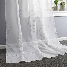 fertigvorhang rebekka weiß sand 140x245cm kaufen