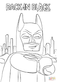 Click The Batman From LEGO Movie Coloring Pages