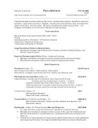 Resume Cover Letter Examples Legal Secretary Samples Sample Assistant School Patent Fr