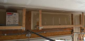 Simpson Strong Tie Ceiling Joist Hangers by Suspended Garage Storage Diy Done Right