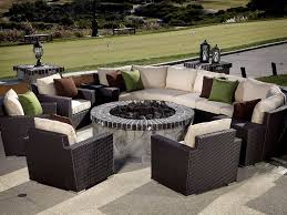 Bjs Outdoor Furniture Cushions by Lovable Wicker Sectional Outdoor Furniture Home Designing Curved
