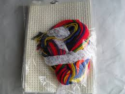Frosted Pumpkin Stitchery Kit by Embroidery Stitch Counted Crossstitch Stitchery 3 Kits New From