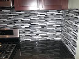 stainless steel and glass tile backsplash glass mosaic tile