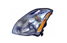 nissan maxima replacement headlight assembly halogen