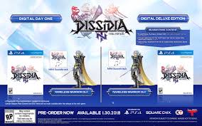 Theatrhythm Final Fantasy Curtain Call Dlc by Dissidia Final Fantasy Nt Launches In The West On January 30