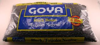 Goya Black Beans 4lb Bag