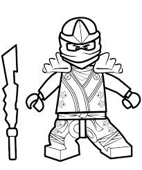 Ninjago Zane Coloring Pages 6