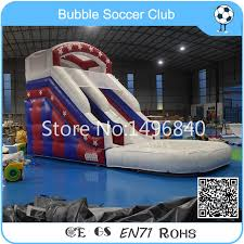 Free Shipping 7Lx3Wx5Hm Inflatable Water SlideInflatable Pool