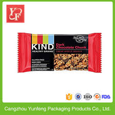 China Product Plastic Energy Bar Protein Packaging