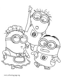 Tom Mark And Phil Coloring Page