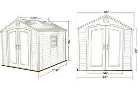 lifetime 8x10 plastic storage shed w floor 6405