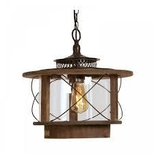 100 Wooden Ceiling 16671 BK Mykyl Single Light Pendant