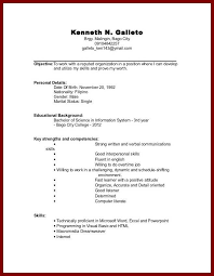 Experience For No Build Resume