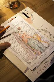 The Making Of Vogue Colors A Z Coloring Book Production Tale