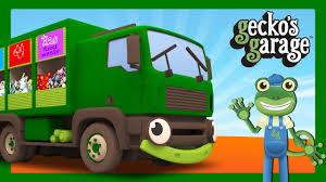 Garbage Trucks For Children | Gecko's Garage | Truck Cartoons - YouTube