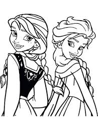 Full Image For Disney Princess Coloring Pages Frozen Elsa And