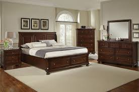 Traditional Bedroom Design with Ashley Furniture Porter Sleigh