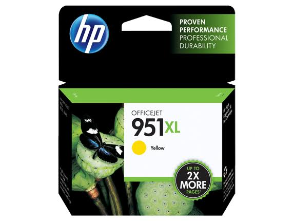HP 951XL High Yield Original Ink Cartridge - Yellow