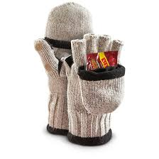 fleece lined thinsulate insulation ragg wool gloves with hand