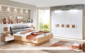 schlafzimmer cena in wildeiche furnier lack weiß liegefläche 180 x 200 cm
