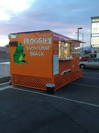 Froggies Snow Cone Shack, Picture Of The Food Truck, Food Trucks Las ... Snow Cone Angels Houston Food Trucks Roaming Hunger Sno Stock Photos Images Alamy Dallas Snow Cone Truck For Parties Turley Mans Stolen Found At Salvage Shop Fox23 Express Opens In Big Creek Crossing Hukilau Hut Llc Sarasota Florida Delicious Food Hawaiian Truck New Mexico Old Sno Surreal Sunset Light Zombieite Kona Visits After School The Leaf 1995 Ice Cream Soft Serve Youtube Ice Cream Truckcurbside Shaved And Apex Snolow 1960 Intertional Metro