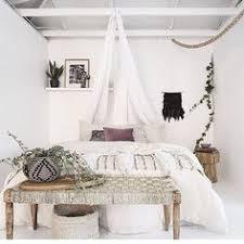 Cozy White Warm Bohemian Bedrooms