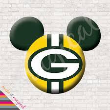 Green Bay Packers Pumpkin Carving Ideas by Arizona Cardinals Mickey Mouse Head Digital Download Arizona
