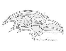 Dallas Cowboys Pumpkin Stencil Free by Nfl Baltimore Ravens Stencil Free Stencil Gallery