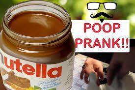 nutella poop prank youtube