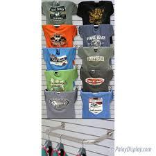 Slatwall Hangrail And T Shirt Display