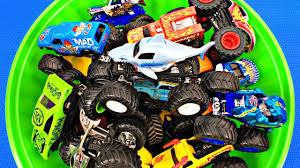 100 Monster Trucks Names For Kids 3 Learn Truck Colors Fun Educational Organic Learning