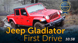 100 4 Door Jeep Truck 2020 Gladiator First Review Kelley Blue Book