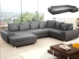 canapé d angle convertible chocolat ou gris clement