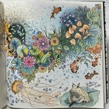 Secret Garden Flores Com Sapo Jardim Secreto Johanna