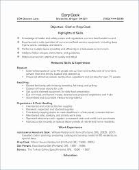 Fast Food Resume Skills Luxury Objective Examples For Restaurant Igniteresumes
