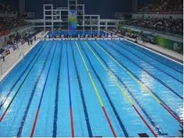 Tile Of Spain Makes A Splash In The Olympic Swimming Pool