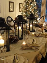 Dining Room Table Decorating Ideas by How Lovely Simple And Elegant Holiday Decorations