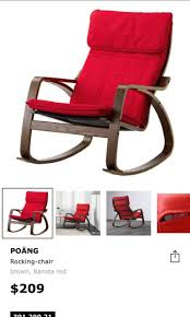 IKEA Rocking Chair Ransta Red - Only Cushion For Sale ... Story Of Ikea Ps Rockingchair Third Protype Today Poang Rocking Chair Fniture Tables Chairs On Rocking Chair Concept Chair Table Behance Ikea Pong Lodz Poland Jan 2019 Exhibition Interior Store Modern White My Blog Poang And Ftstool Dark Lowes On Concrete Flooring Rockingchair Birch Veneer Hillared Beige Gronadal 3d Model In 3dexport Ikea Rocker Gulfmedco
